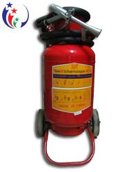 Bình chữa cháy bột BC 35kg MFZ35 loại lớn có xe đẩy