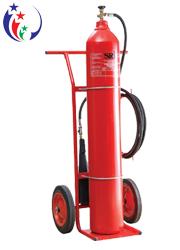 Bình chữa cháy khí co2 24kg MT24 loại lớn có xe đẩy