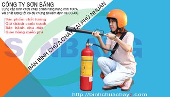 Bán bình chữa cháy tại Quận Phú Nhuận UY TÍN CHẤT LƯỢNG