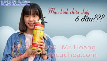 Giá bán bình chữa cháy bột ABC theo tiêu chuẩn pccc Việt Nam