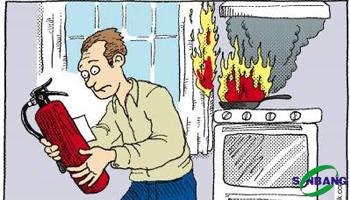 Nên mua bình chữa cháy loại nào không gây nguy hiểm?
