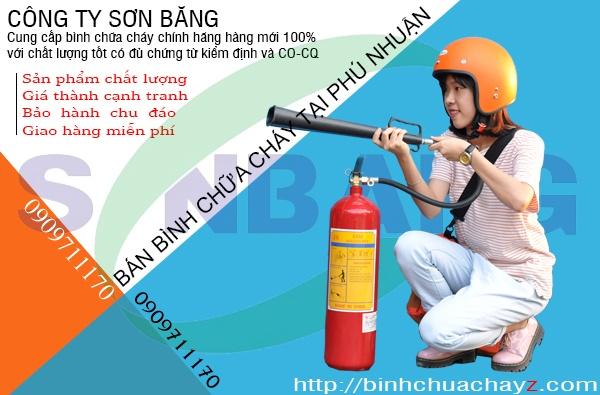 Bán bình chữa cháy tại Phú Nhuận