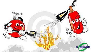 Cách lắp đặt bình chữa cháy